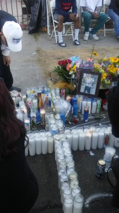 Vigil for Sergio 10/16/16